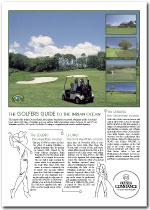 Hotels Constance Golfers Guide 2003