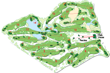 Links Golf (Belle Mare Plage) map re-looking