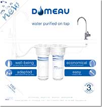 Domeau Crystal+ roll-up banner