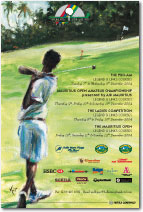Mauritius Golf Open 2004 poster